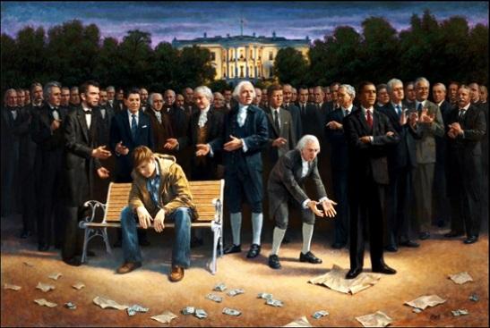 photo courtesy of: http://www.nowtheendbegins.com/blog/wp-content/uploads/obama-trampling-US-constitution-james-mcnaughton-550.jpg